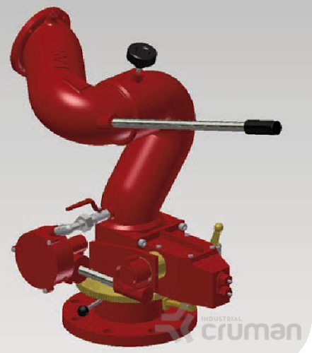 Sistemul de stingere cu tunuri - Industrial Cruman