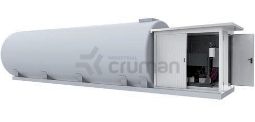 Sisteme integrate externe UNITANK  - Industrial Cruman
