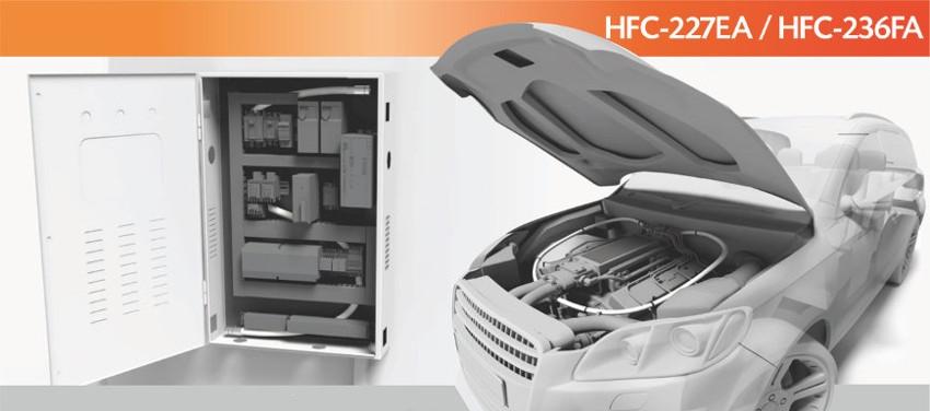 """Sistem automat de stingere cu HFC-227ea """"Fidias"""""""