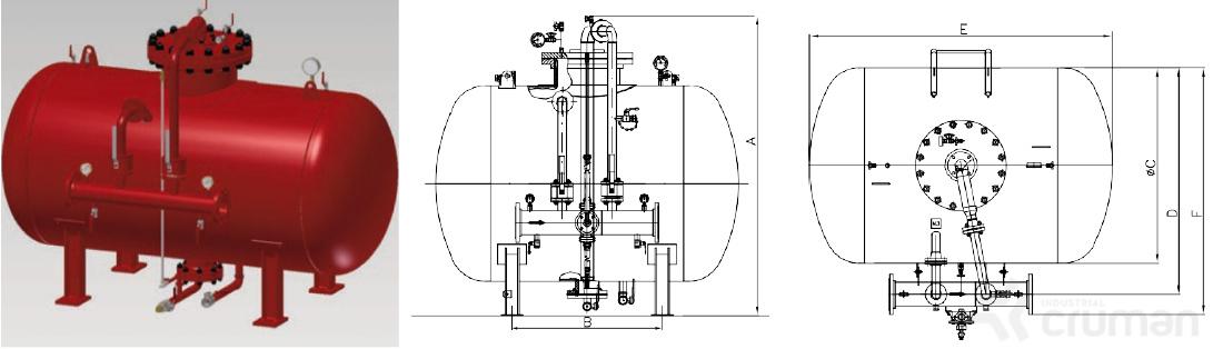 Rezervoare cu membrana - Industrial Cruman