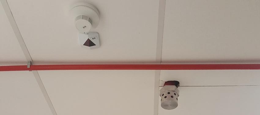 detectie si alarmare incendiu
