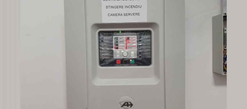 Sistem automat de stingere